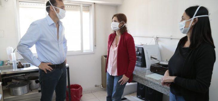 Coronavirus: Provincia recomienda el uso de protectores faciales